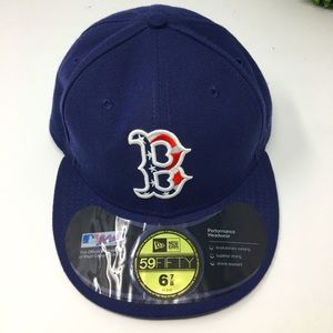 Boston Red Sox Cap MLB Flat Solid Sz.6 7/8
